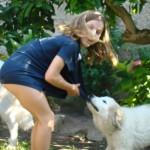 Miele con Laurentia, la sua cuginetta bellissima....